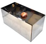 Naczynie przelewowe Unico INOX 30l