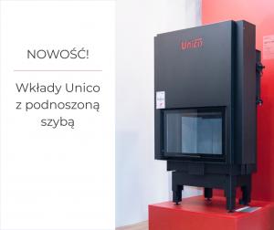 wkłady Unico z podnoszoną szybą
