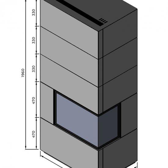Obudowa betonowa Dragon 2_2B